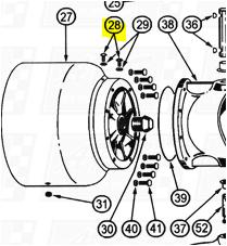 Oil Plugs fit OEM Legend 120E — Fig. No. 28 > OEM 120E