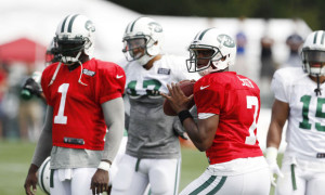 jets camp - geno & vick