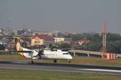 Passion Air: Aircraft arrives in Ghana