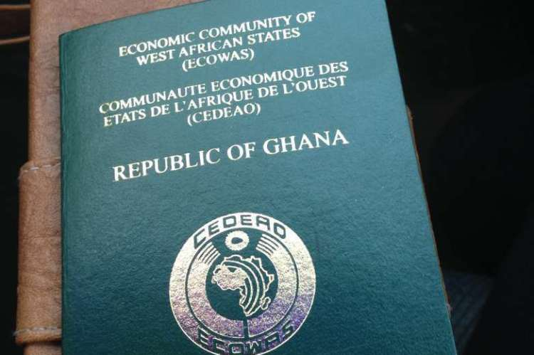 Ghanaian Passport