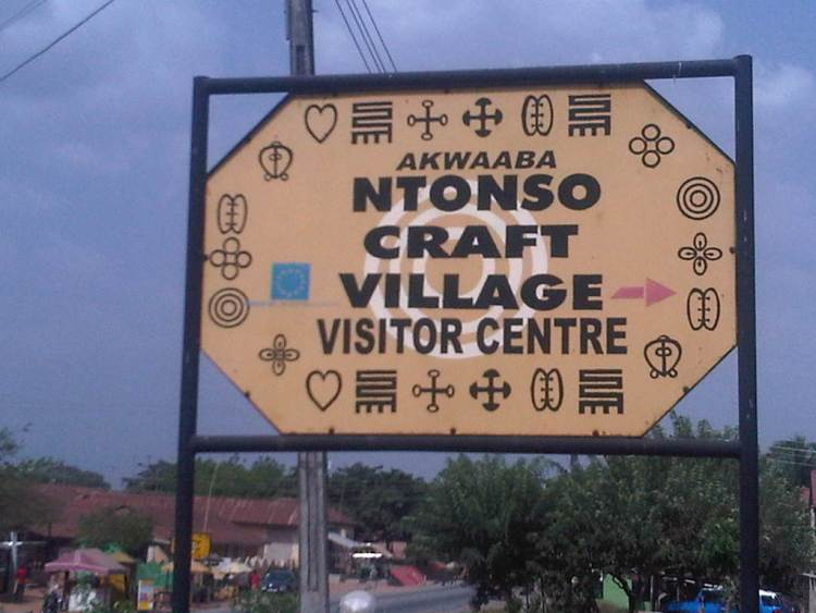 Ntonso Adinkra Craft Village