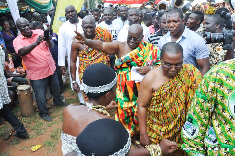 President attends Odwira Festival as well