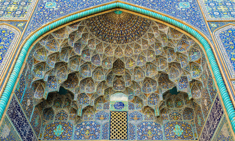 Sheik Loftallah mosque in Isfahan. Photograph: Leonid Andronov/Getty Images/iStockphoto