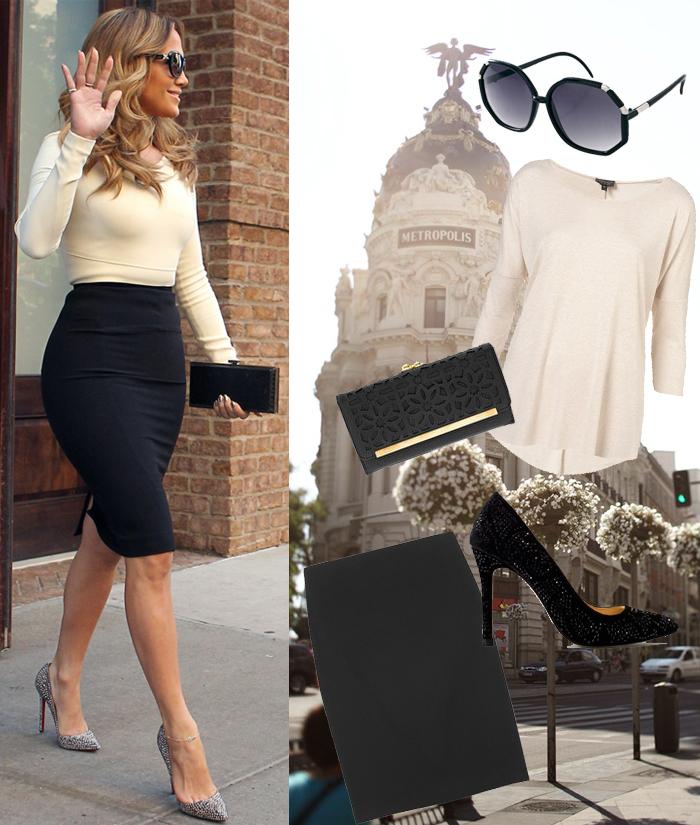 Celebrity Fashion Style Jennifer Lopez