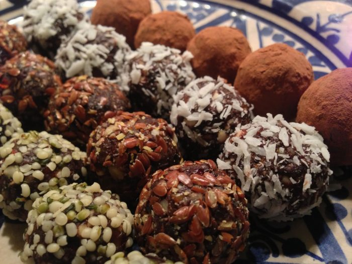 Raw Food Bliss Balls