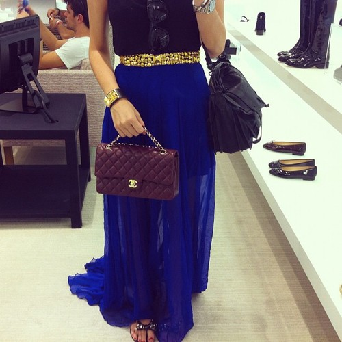 Klein Blue Fashion outfit