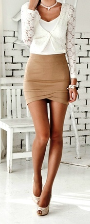 Nude, Beige & Camel color outfit