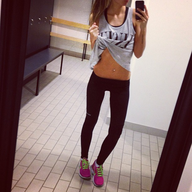 Work out and fitness girls