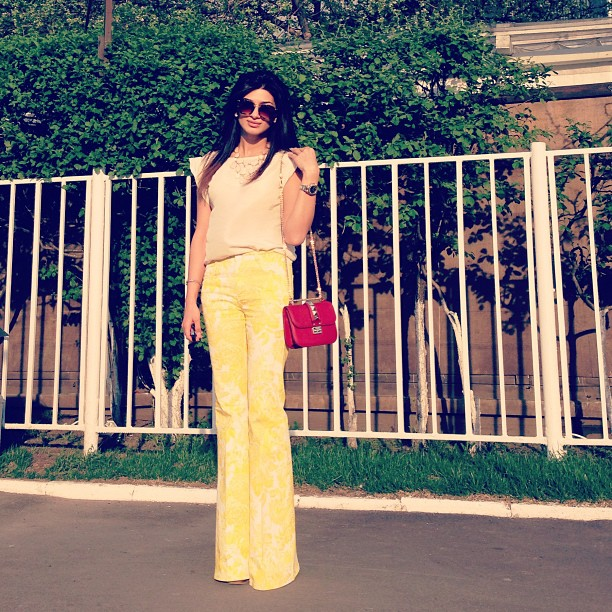 Wide Boot cut Trousers