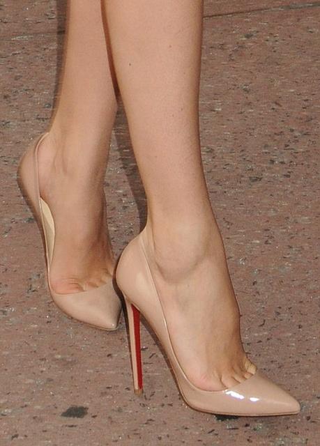 Skin colored Heels