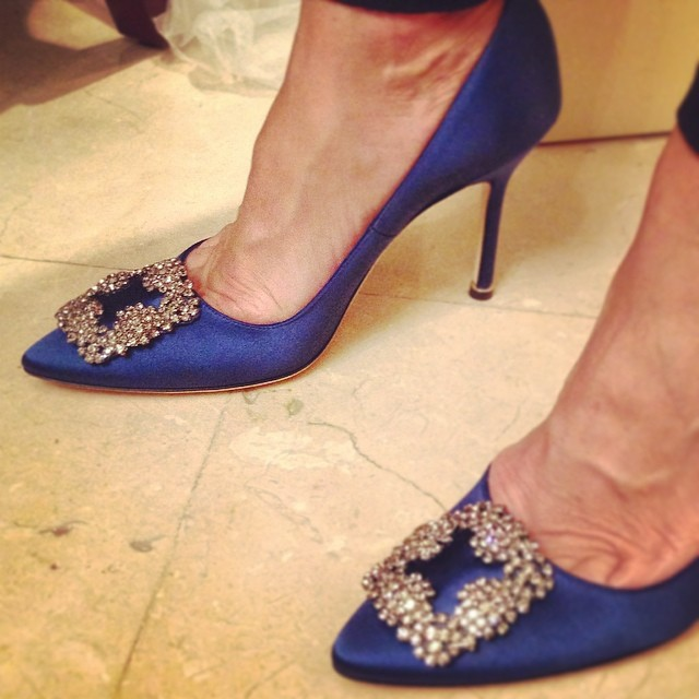 Manolo Blahnik Hangisi Shoe