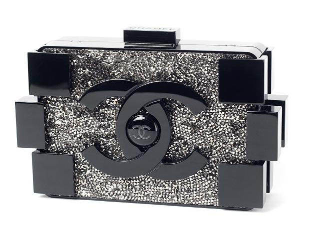 Chanel Lego Clutch Bag