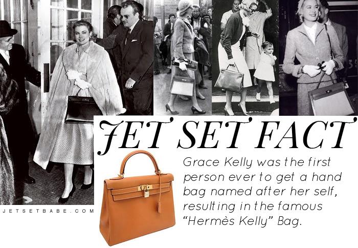 Grace Kelly Hermes Kelly Hand Bag Muse