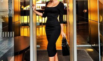 Black Pencil Dress
