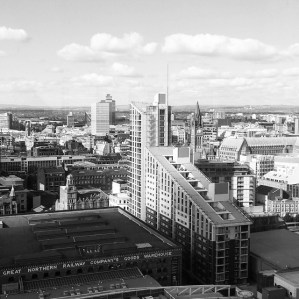 View of Manchester City Centre