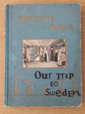 postcard album for stockholm