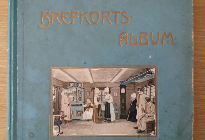 postcard album cover
