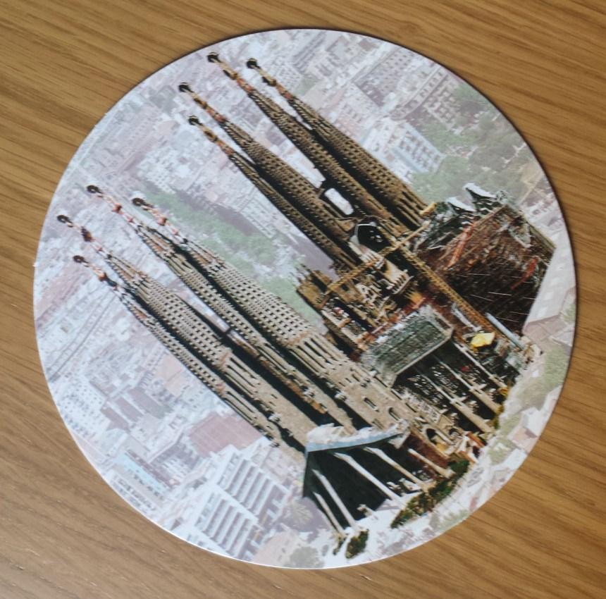 Gaudi inspired postcard from Barcelona