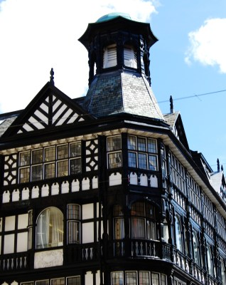 Old Edwardian buildings Manchester City Centre