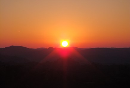Sunrise over Matobo National Park