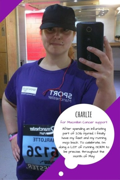 Great Manchester Runner - Charlie