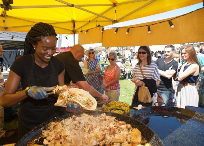 Street food at Tatton Park Foodies Festival Manchester
