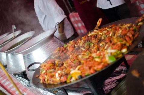 Fresh food at Tatton Park Foodies Festival Manchester