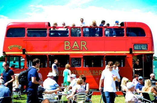 Food and drink at Tatton Park Foodies Festival Manchester