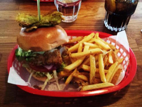 home sweet home fish filet burger