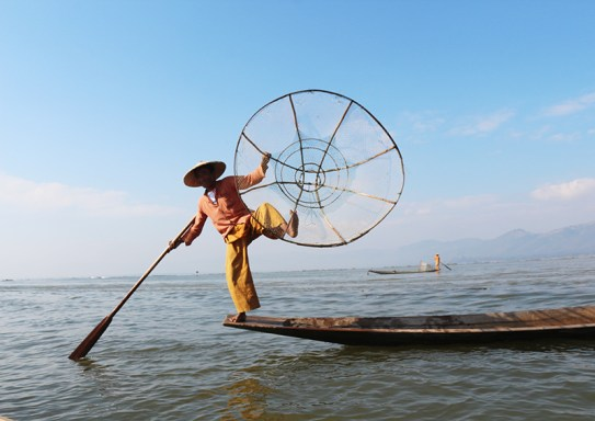 Fishermen of Inle Lake 7