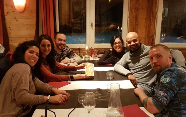 Dinner at L'Ancolie Flaine resort Crystal Ski holidays