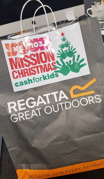Mission Christmas Cash for kids Manchester