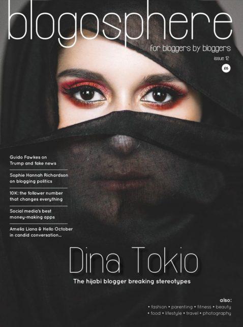 Dina Tokio Blogosphere Cover Image