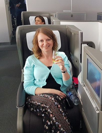 British Airways Business Class 23
