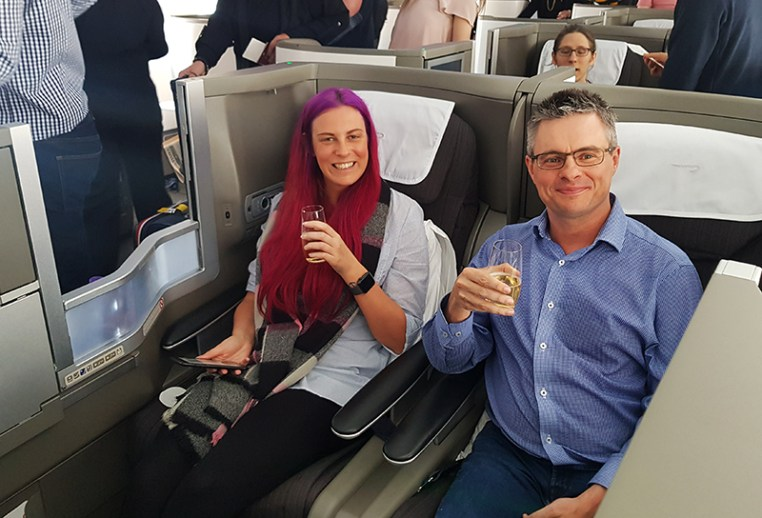 British Airways Business Class 42