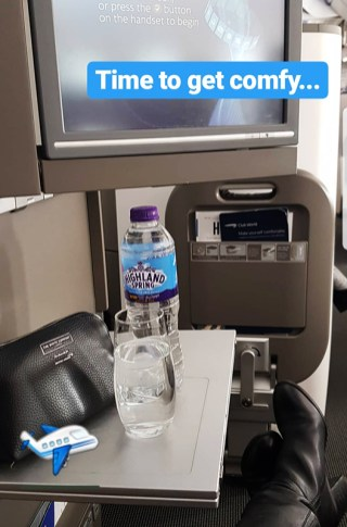 British Airways Business Class 67