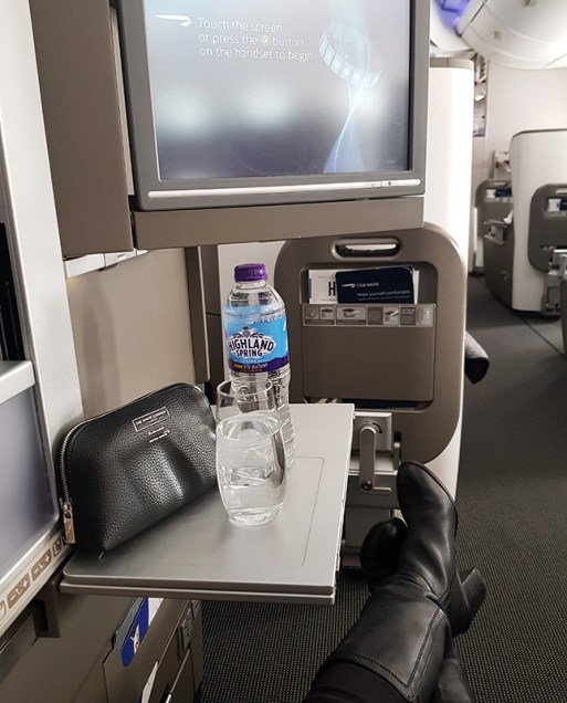 British Airways Business Class 92