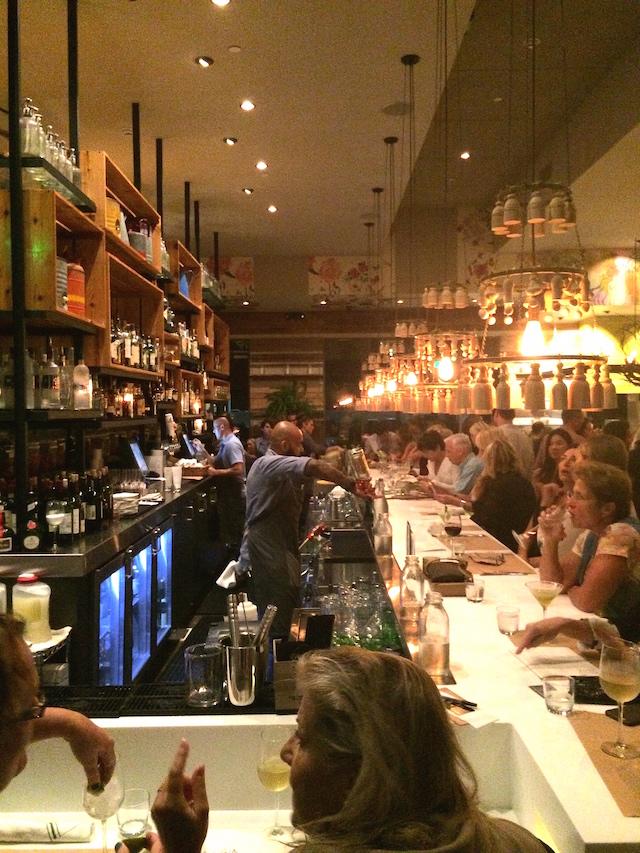 CUCINA enoteca bar area