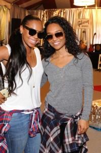 Ashanti + Chilli at The GRAMMY Gift Lounge