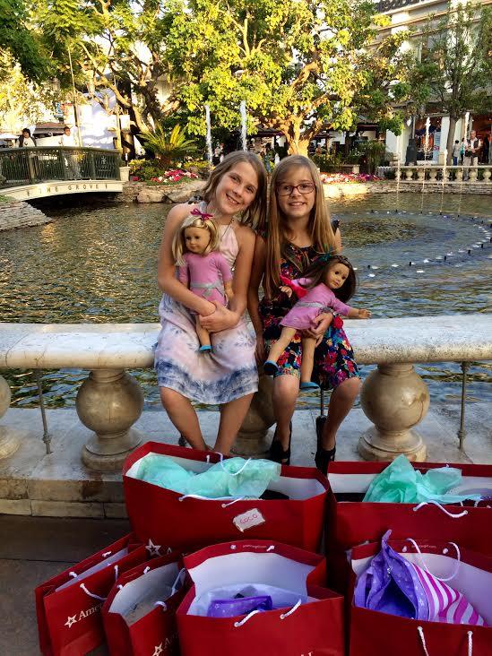 American Girl Doll Swag Bags