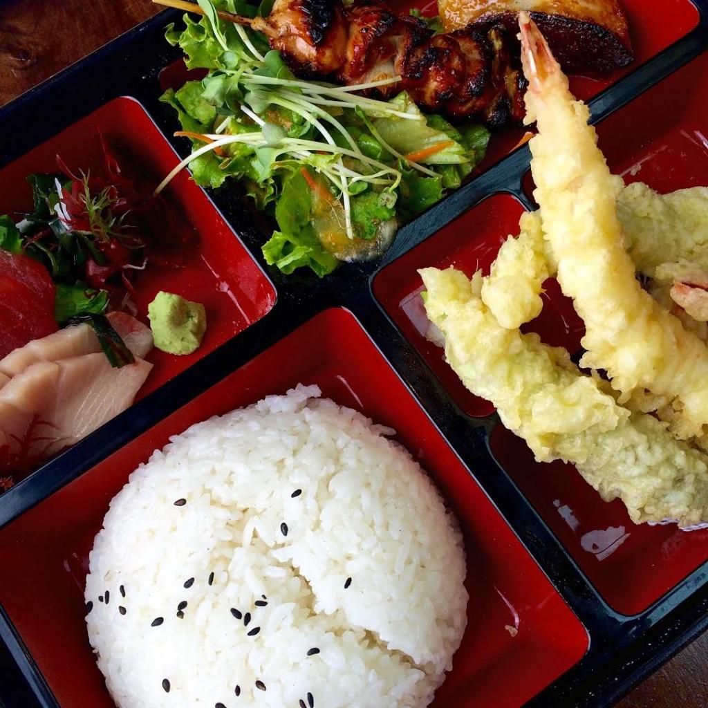 Executive Bento Box Sushi Roku