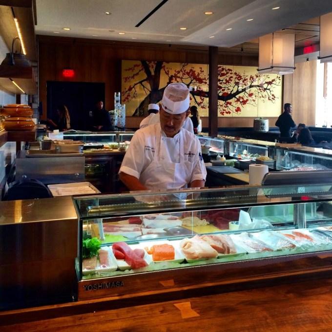 Sushi Roku Newport Beach Fashion Island | The JetSet Family