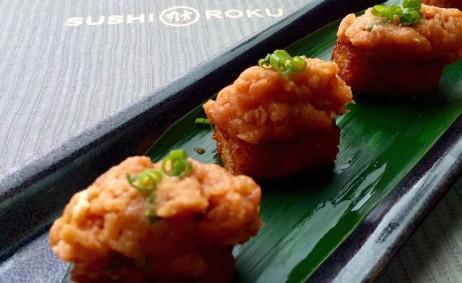 Sushi Roku Newport Beach Fashion Island Spicy Tuna Hanabi  The JetSet Family
