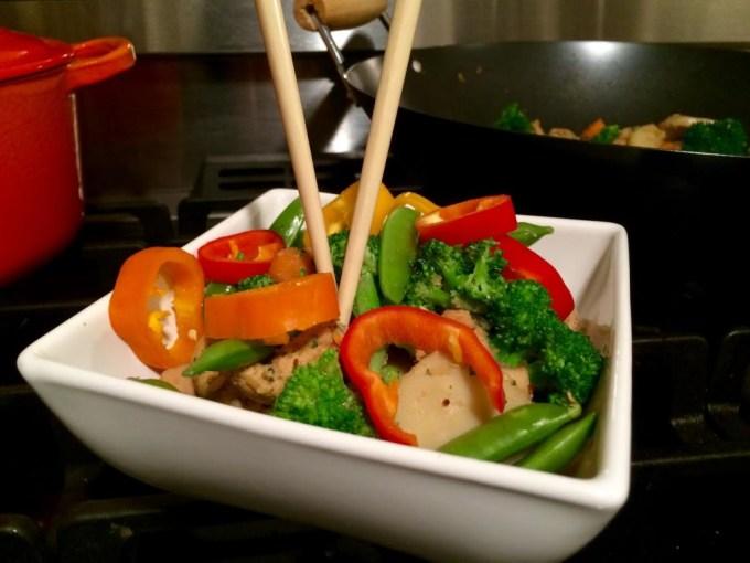 Asian Chicken Stir Fry Recipe | The JetSet Family