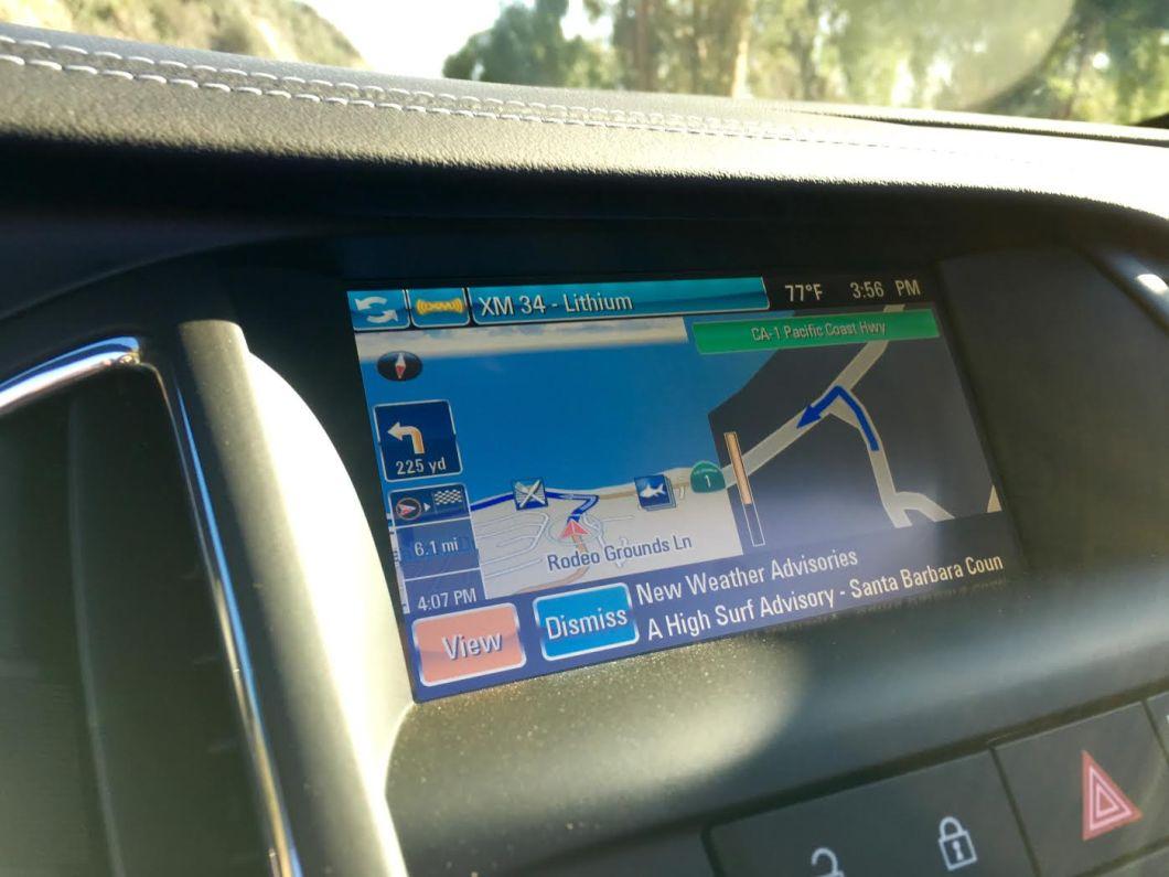 Buick Cascada Navigation + Weather | The JetSet Family