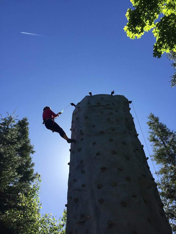 Tenaya Lodge Rock Climbin