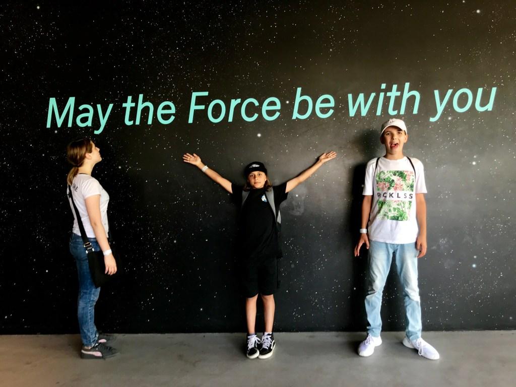 Disneyland Star Wars Galaxy's Edge Millennium Falcon