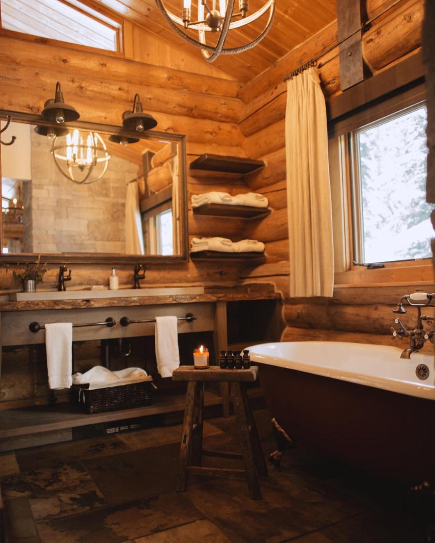 Lone Mountain Ranch Glamping Bathroom