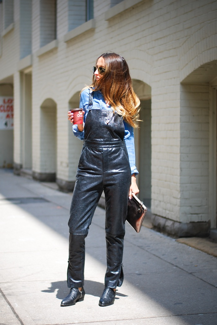 My Style  Leather Overall  JUSTINE