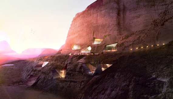 Wadi Rum Rock Resort